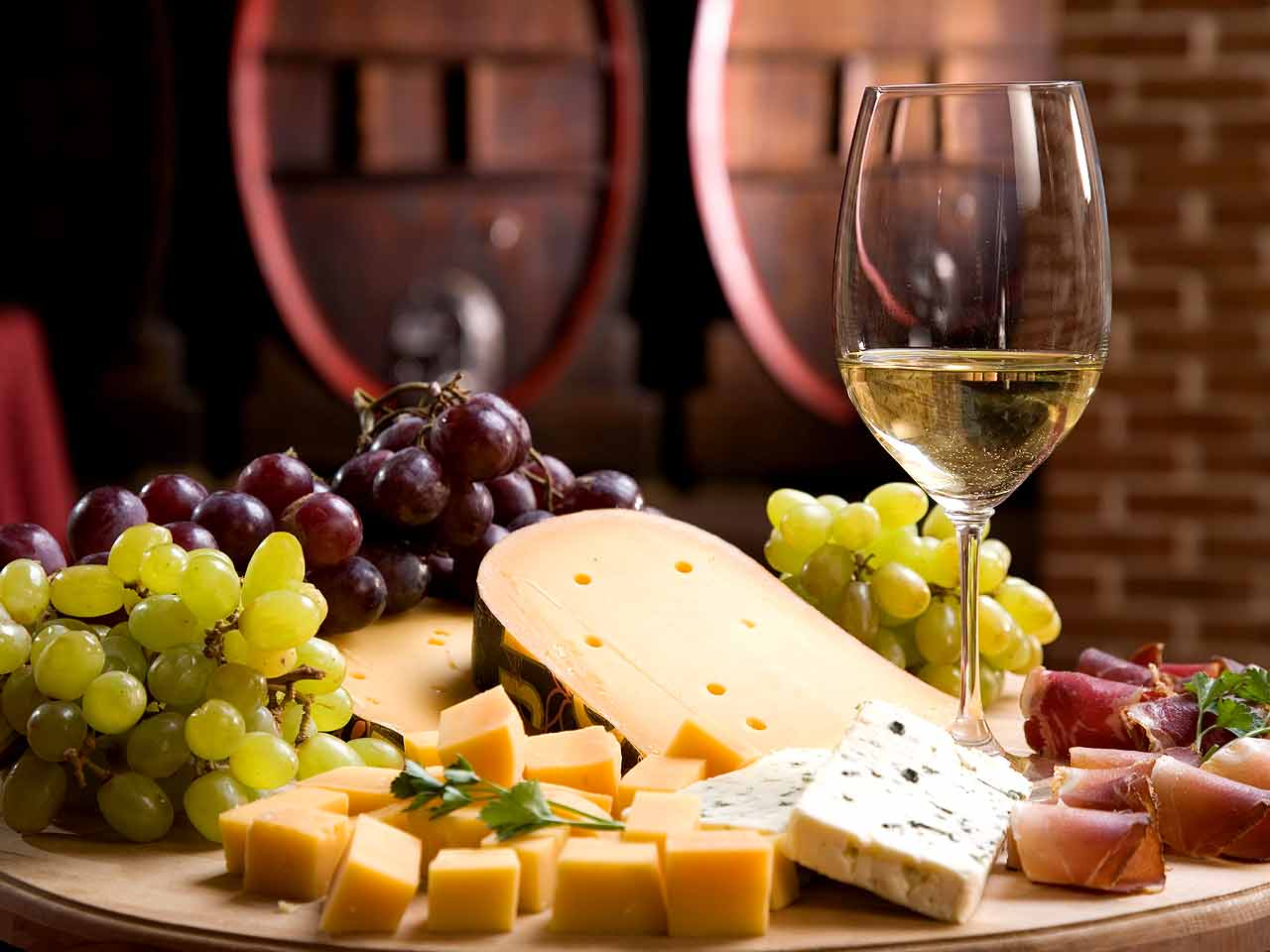 Wine and Cheese Making